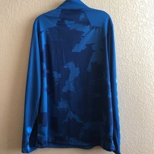 The North Face Jackets & Coats - NWT • The North Face Blue 1/4 Zip Jacket • L
